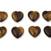 Tiger Eye Heart Pendant - Crystal Dreams