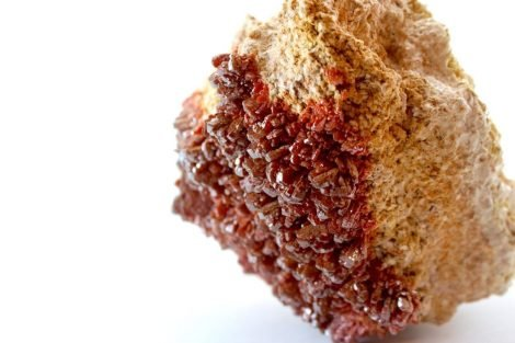 Crystal Dreams Large High Quality Vanadinite Geode