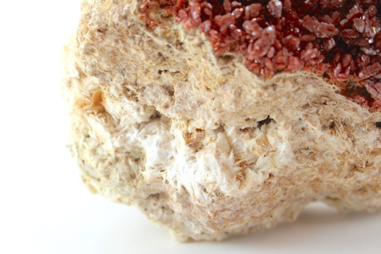 Crystal Dreams Large High Quality Vanadinite Geode - Natural Crystal Cluster XXL 1