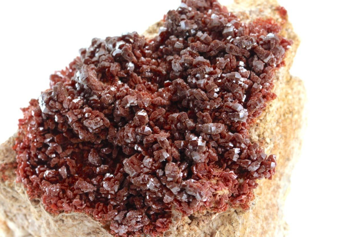 Crystal Dreams Large High Quality Vanadinite Geode - Natural Crystal Cluster XXL 2