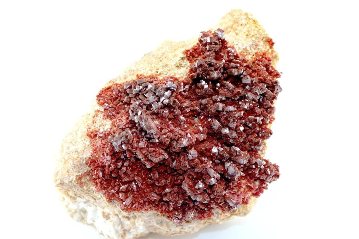 Crystal Dreams Large High Quality Vanadinite Geode- Natural Crystal Cluster XXL 3