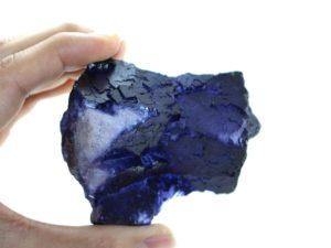 Crystal Dreams Purple Fluorite Crystal - Large Gemstone In Rough Form