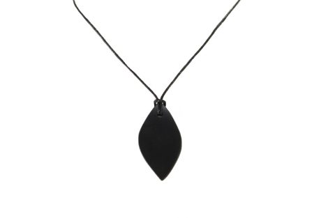 100% Authentic Oval Shungite Pendant - Crystal Dreams
