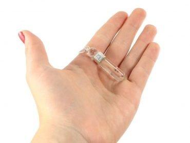 Clear Quartz Pendant - Crystal Dreams