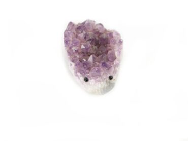 Crystal Dreams Natural Amethyst Porcupine