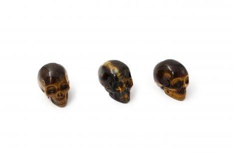 Tiger Eye Skull - Crystal Dreams
