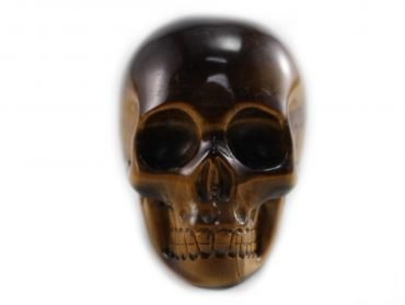 Crystal Dreams 100% Natural High Quality Tiger Eye Skull