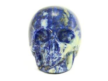 Lapis Lazuli Skull-Crystal Dreams