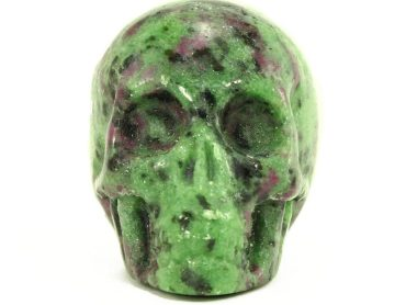 Crystal Dreams 100% Natural High Quality Rubis Fushite Skull