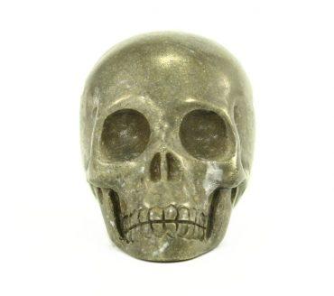 Crystal Dreams 100% Natural High Quality Pyrite Skull