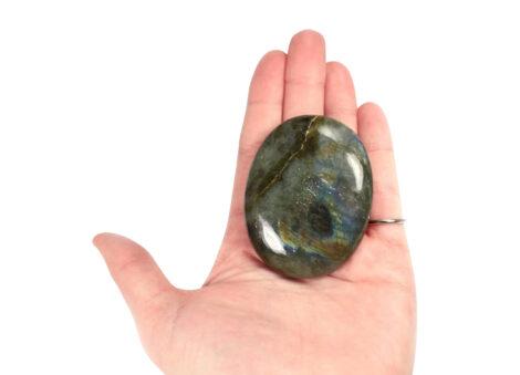 Crystal Dreams Labradorite Palm Stone - Crystal Dreams