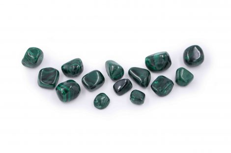 Malachite tumbled stone natural - Crystal Dreams