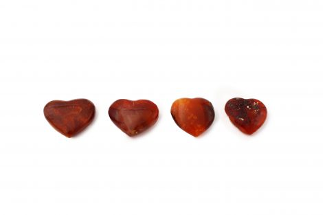 Red Agate - Carnelian heart - Crystal Dreams