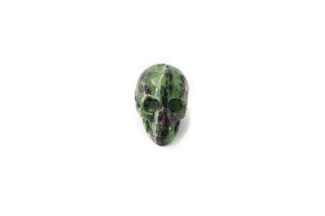 Ruby Zoisite Skull - Crystal Dreams