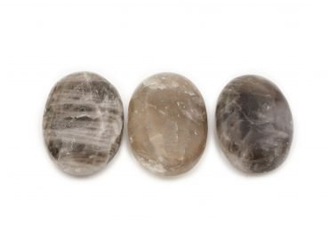 Smokey Quartz Palm Stone - Crystal Dreams