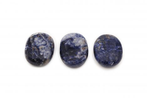 Sodalite Palm Stone - Crystal Dreams