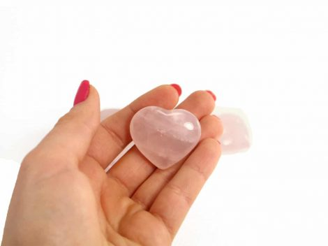Crystal Dreams Rose Quartz Heart