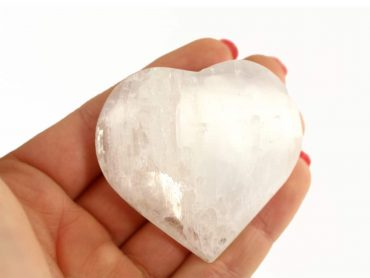 Large Selenite Heart - Crystal Dreams