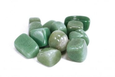 One Aventurine Tumbled