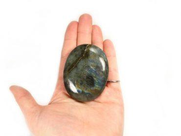Crystal Dreams Labradorite Palm Stone