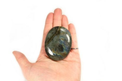 Crystal Dreams Labradorite Palm Stone