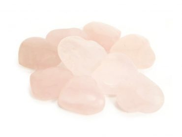 Rose Quartz Heart Small - Crystal Dreams