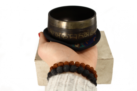 Crystal Dreams Small Handmade Tibetan Singing Bowl