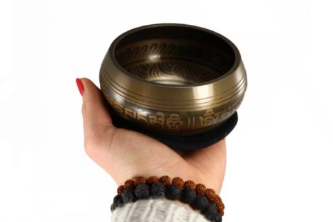Crystal Dreams Small Handmade Tibetan Singing Bowl