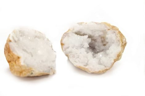 Calcite Geode Pre-Opened - Crystal Dreams