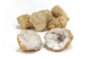 Crystal Dreams Calcite Geode. Come And Get Your Own.