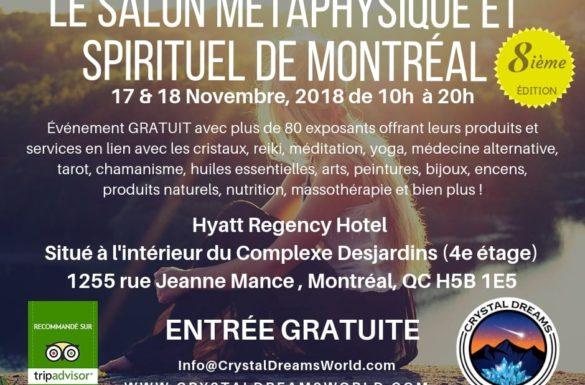 Salon Spirituel et Métaphysique de Montréal 2
