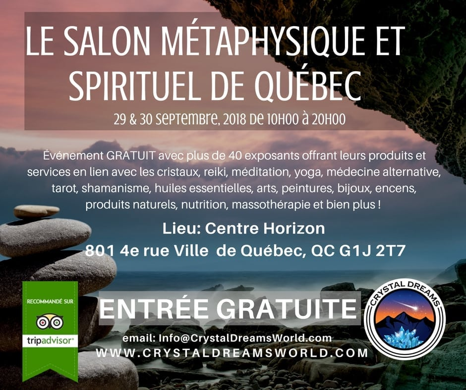 Le salon métaphysique et spirituel de Québec