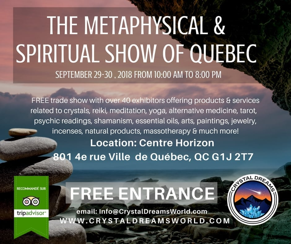 The Metaphysical & Spiritual Show Of Quebec