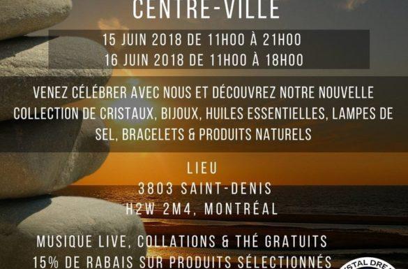 Deuxième Boutique de Crystal Dreams sur Saint-Denis
