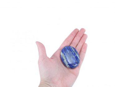 lapis lazuli palmstone (hand) - Crystal Dreams