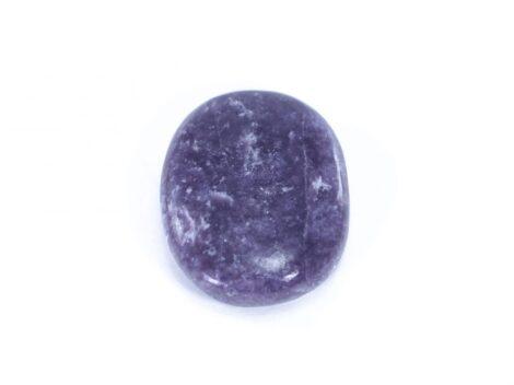 Lepidolite Palm Stone Crystal Dreams