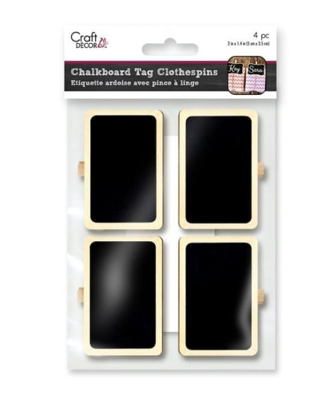 Chalkboard Clothespin Tags 1