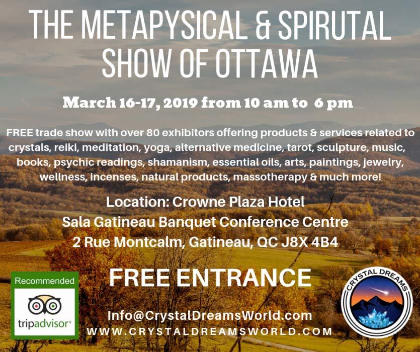 The Metaphysical and Spiritual Show of Ottawa