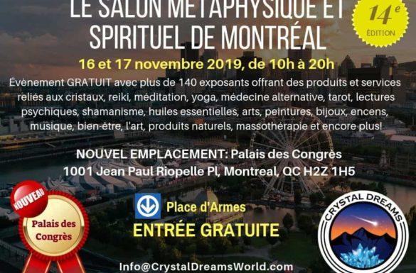 Le salon métaphysique et spirituel de Montréal 1