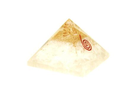 Orgone Pyramid Selenite (L)- Crystal Dreams