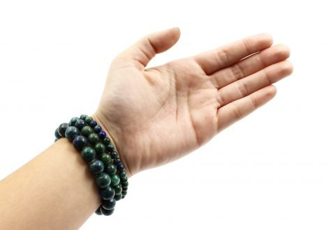 Azurite malachite bracelets - Crystal Dreams