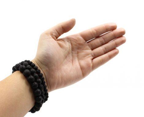 Lava Stone - bracelet (10mm, 8mm, 6mm) - Crystal Dreams