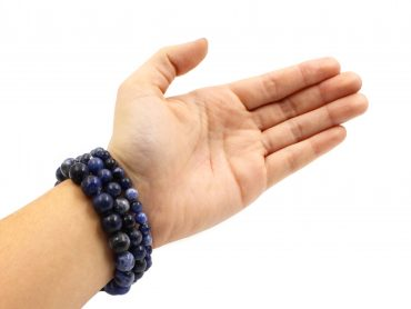 Sodalite - Bracelet (10mm, 8mm, 6mm) (Hand) - Crystal Dreams