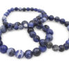 Sodalite Bracelet (10 mm, 8 mm or 6mm) - Crystal Dreams