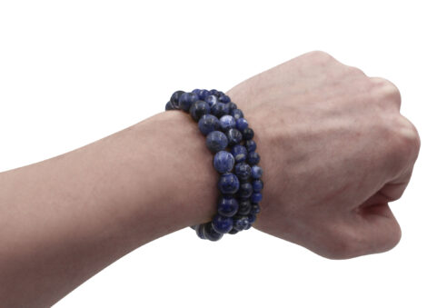 Sodalite Bracelet (10 mm, 8 mm or 6mm)