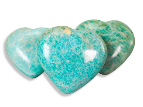 amazonite puffy heart - Crystal Dreams