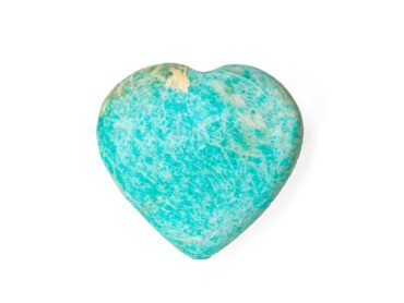 amazonite puffy heart- Crystal Dreams