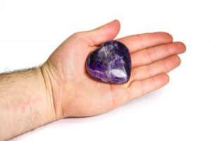 Amethyst Puffy Heart 1