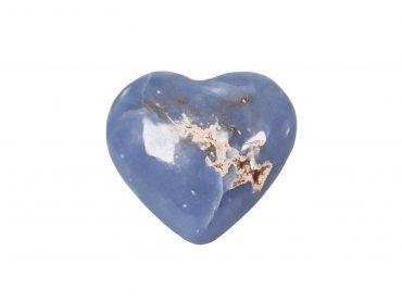 Angelite Puffy Heart - Crystal Dreams