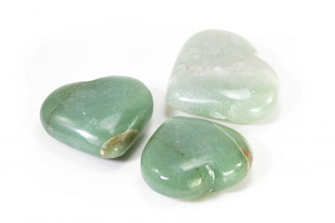 Aventurine Puffy Heart